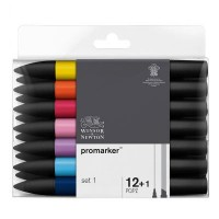 Winsor & Newton Promarker Packs of 12